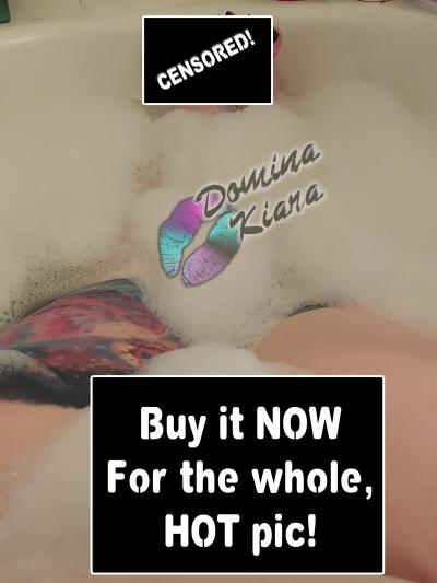 femdom mistress naked bath foot worship